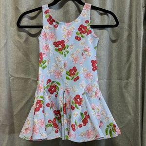 Super fun cherry print twirl dress
